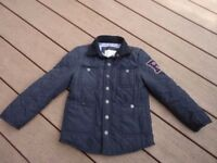 River Island smart boys navy quilted coat age 4 yrs in lovely condition.