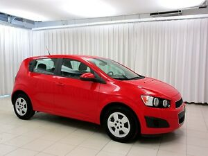 2014 Chevrolet Sonic 5SPD 5DR HATCH w/ A/C, CARGO COVER & ON-STA