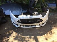 Ford Fiesta st2 mk7 2012-2017front bumper complete