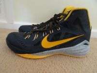 Nike Hyperdunk Paul George signature series UK Size 13 Gold/Wolf Grey New