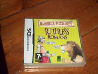 Nintendo DS Horrible Histories , Ruthless Romans game