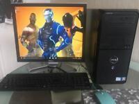 Dell quad core gaming Pc