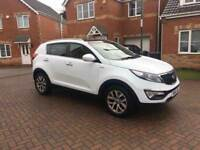 2014 KIA SPORTAGE KX-2 CRDI 2.0 AUTOMATIC, FULL HISTORY, LEATHER, CRUISE, USB, AUX, HPI CLEAR