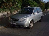 Kia Carens, 2003, 1991cc CRDi LX, 5 door, Metallic silver, Hatchback
