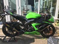 Kawasaki zx6r 636 2013