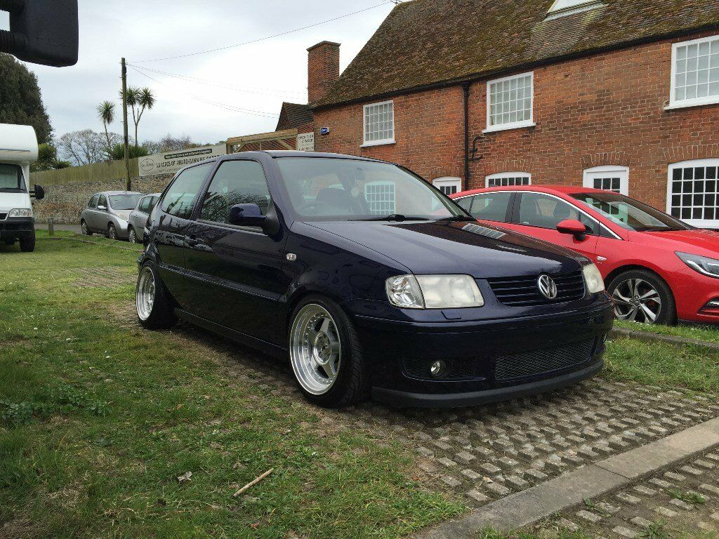 vw polo 6n2 1 4 16v modified lowered in sandwich kent gumtree. Black Bedroom Furniture Sets. Home Design Ideas
