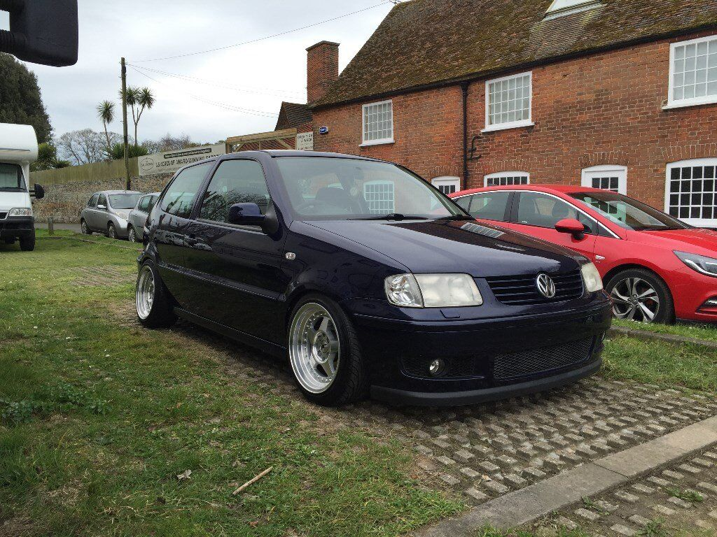 vw polo 6n2 1 4 16v modified lowered in sandwich kent. Black Bedroom Furniture Sets. Home Design Ideas