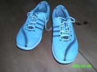 Clarks Ladies Wave Echo casual lace-up shoes