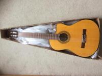 Suzuki electro acoustic classical guitar