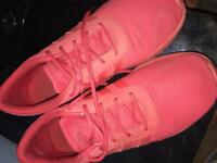 Men's Adidas trainers red