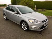FORD MONDEO 2.0 TDCI DIESEL, TITANIUM X, 2013 HALF LEATHER/SUEDE, **FINANCE FROM £48 PER WEEK**