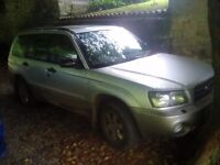 Subaru forester 2.0x all wheel drive