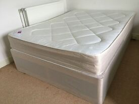 Orthopedic double bed in good conditions