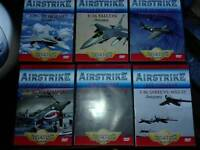 The aviator collection Air strike DVD collection x 8 dvds new and sealed