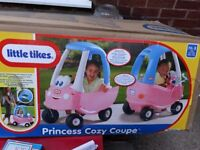 LITTLE TIKES PRINCESS COUPE CAR BRAND NEW IN BOX