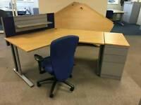 Desk High Filing Cabinet