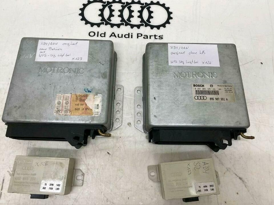 ABY ECU Steuergerät inkl WFS Serie 230PS 20v turbo S2 S4 S6 in Bredstedt