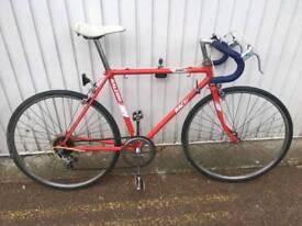 Vintage Raleigh racing bicycle