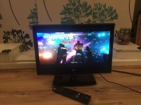 "LG 19"" Wide Screen Slim HD Ready LED TV with Freeview"
