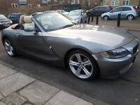 BMW Z4 EXCLUSIVE 2.0 Cream leather seats, parking sensors and Bluetooth