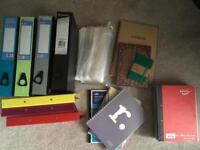 Files and notepads