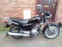 2014 Yamaha YBR Custom 125 learner bike, MOT, service history, 1 owner, perfect runner, not cbf yzf