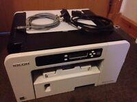 ricoh aficio sg 2100n for sale, good condition, no ink cartridges