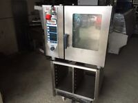 3 phase electric rational steam oven commercial kitchen equipment restaurant cafe bakery piri piri