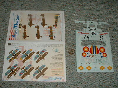 AeroMaster decals 1/48 48-621 Early version PZL F16