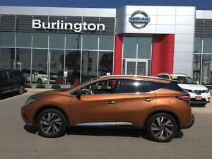 2016 Nissan Murano Platinum, WOW ONLY $38, 300 plus hst