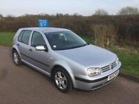 2002 Volkswagen Golf 1.6 Automatic - Full Service History