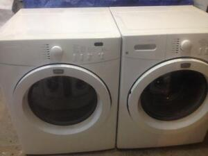 48- FRIGIDAIRE AFFINITY Laveuses Secheuses Frontale Frontload Washers Dryers