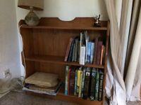Small Book shelf, very good quality pine