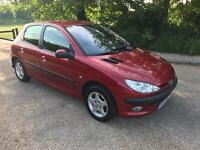 PEUGEOT 206 SE 2004 85K MILES 1 YEAR MOT FULL LEATHER ICE COLD AIR CON 1.4 DRIVES THE BEST