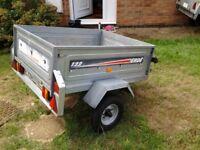 Erde 122 tipper trailer