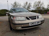 SAAB 9-5 ARC TID SALOON ,,STAMPED SERVICE HISTORY.. FULL LEATHER INTERIOR..FULLY LOADED £999