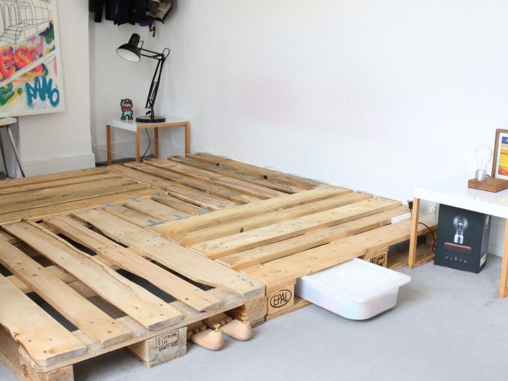 Super King Mattress Eve 180x200 Wooden Pallet Bed Frame