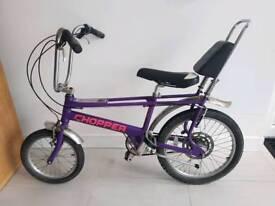 Raleigh chopper bike bicycle