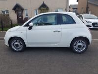 Fiat 500 Lounge 3dr (start/stop) 14 reg in excellent condition. 26,700 miles