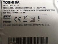 LCD TV. Toshiba