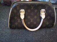 LOUIS VUITTON Speedy Bandouliere 35 Monogram Canvas Handbag