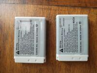2xOriginal CANON Battery NB-13L for PowerShot G7XII, G7X, G5X, G9X, SX720.