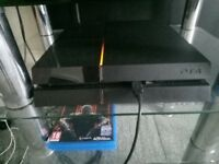 PS4 With Two Controllers - Collection Only