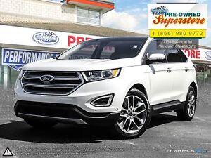 2016 Ford Edge Titanium>>>NAV, leather, AWD<<<