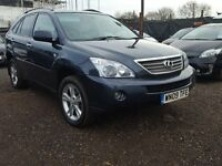 2009 Lexus RX400 HYBRID 4X4 Top Spec Finance Available