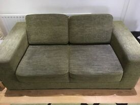 2 Seater Sofa - Lime Green