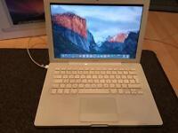 MacBook 13 inch widescreen notebook