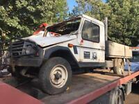 Umm 4x4 pick up 1992 2.5 diesel spares or repairs