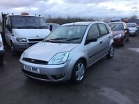 2005 Ford Fiesta Zetec only 68000 miles from new 1years mot clean car 1.2 engine 5 door anytrial