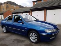 PEUGEOT 406 PETROL-2003 MODEL - RARE STUNNING MODEL WITH MOT AND- REMOTE KEY-AC-CD-ALLOY